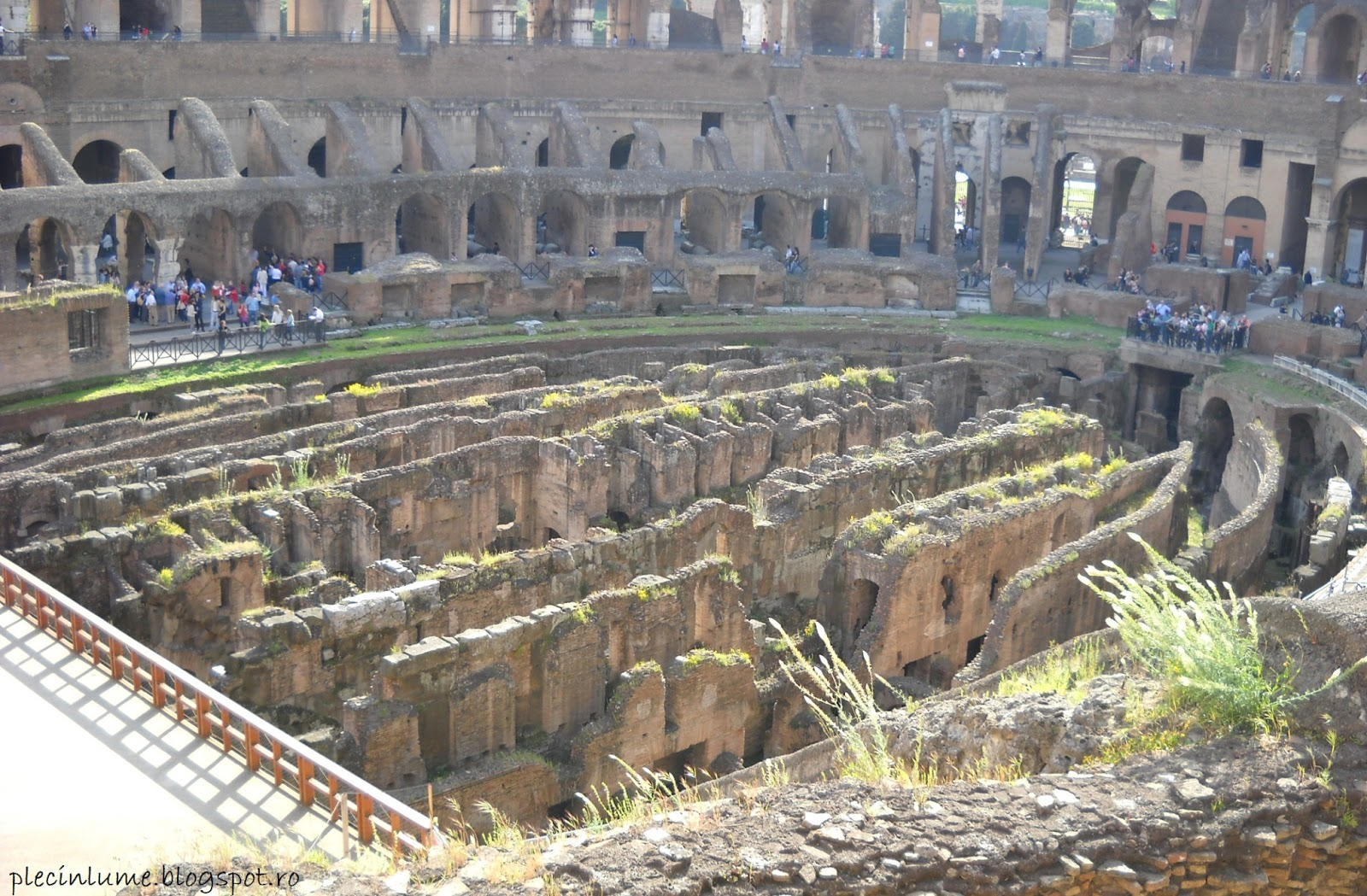 Colloseum in interior