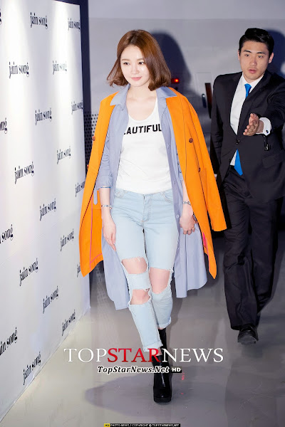 Kang Minkyung Seoul Fashion Week 2014