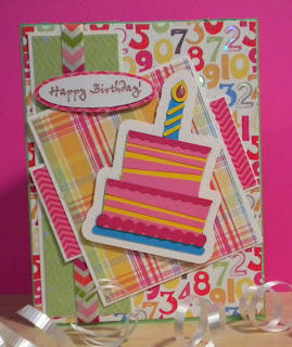 Cricut, Sweet Treats, Birthday Card