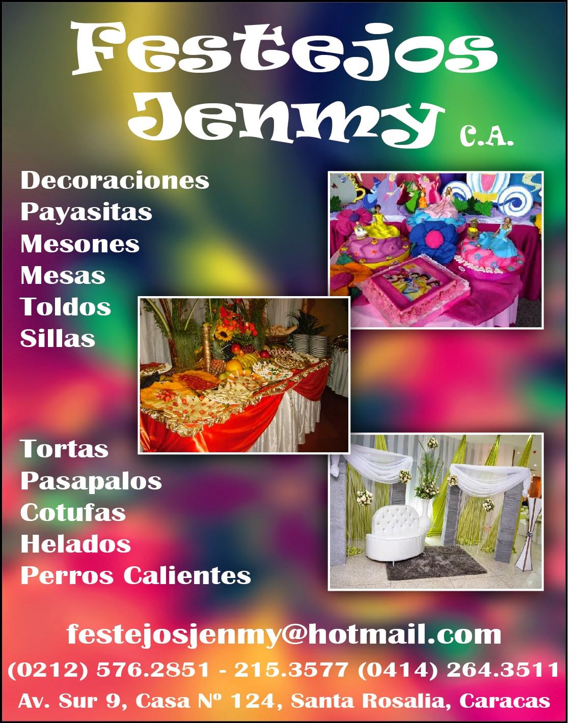 FESTEJOS JENMY C.A. en Paginas Amarillas tu guia Comercial