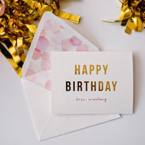 Ma Bicyclette - Buy Handmade - Birthday Cards - Gold Foil