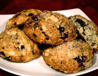 blueberry scones a vegan recipe for kids