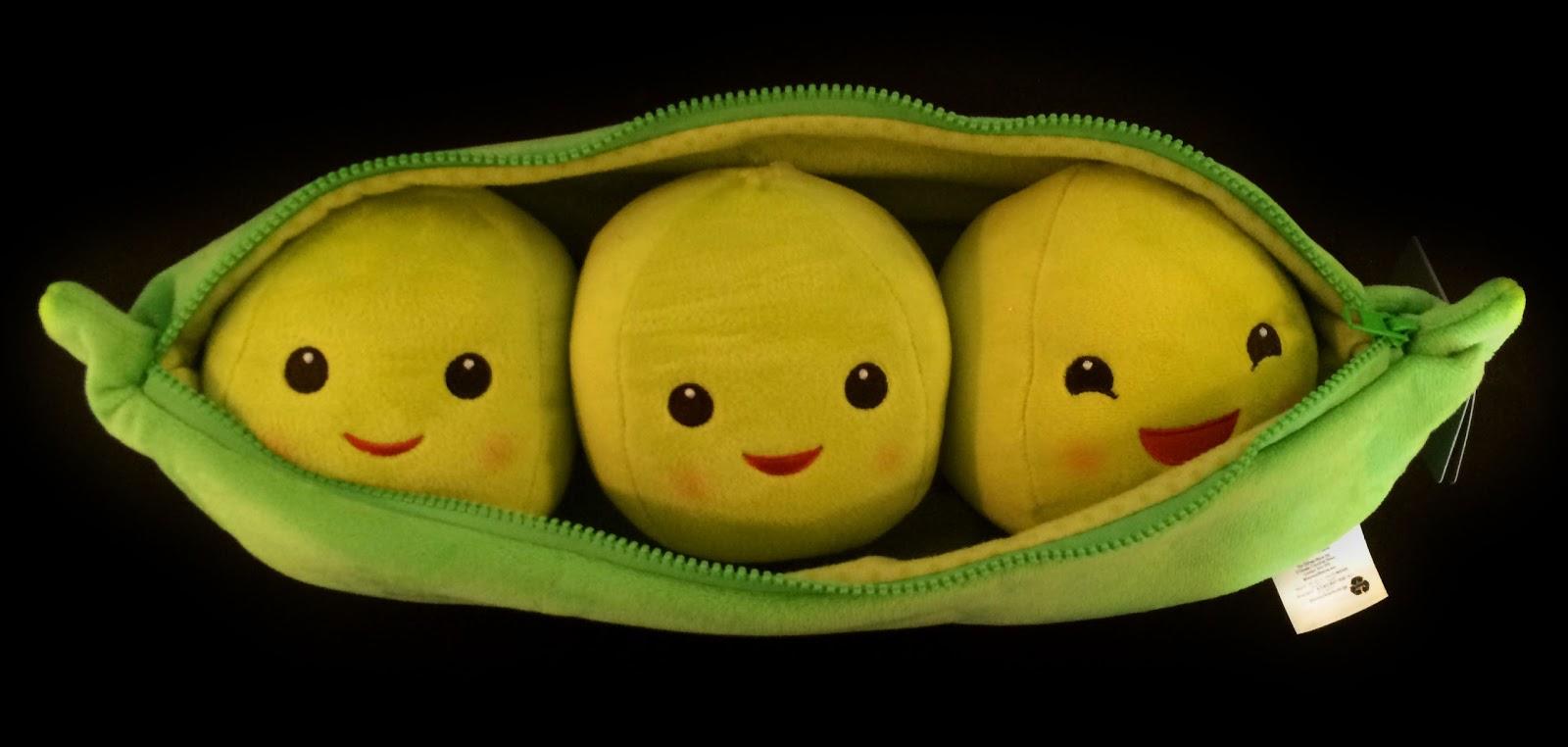 Dan the pixar fan toy story 3 peas in a pod plush 19 quot