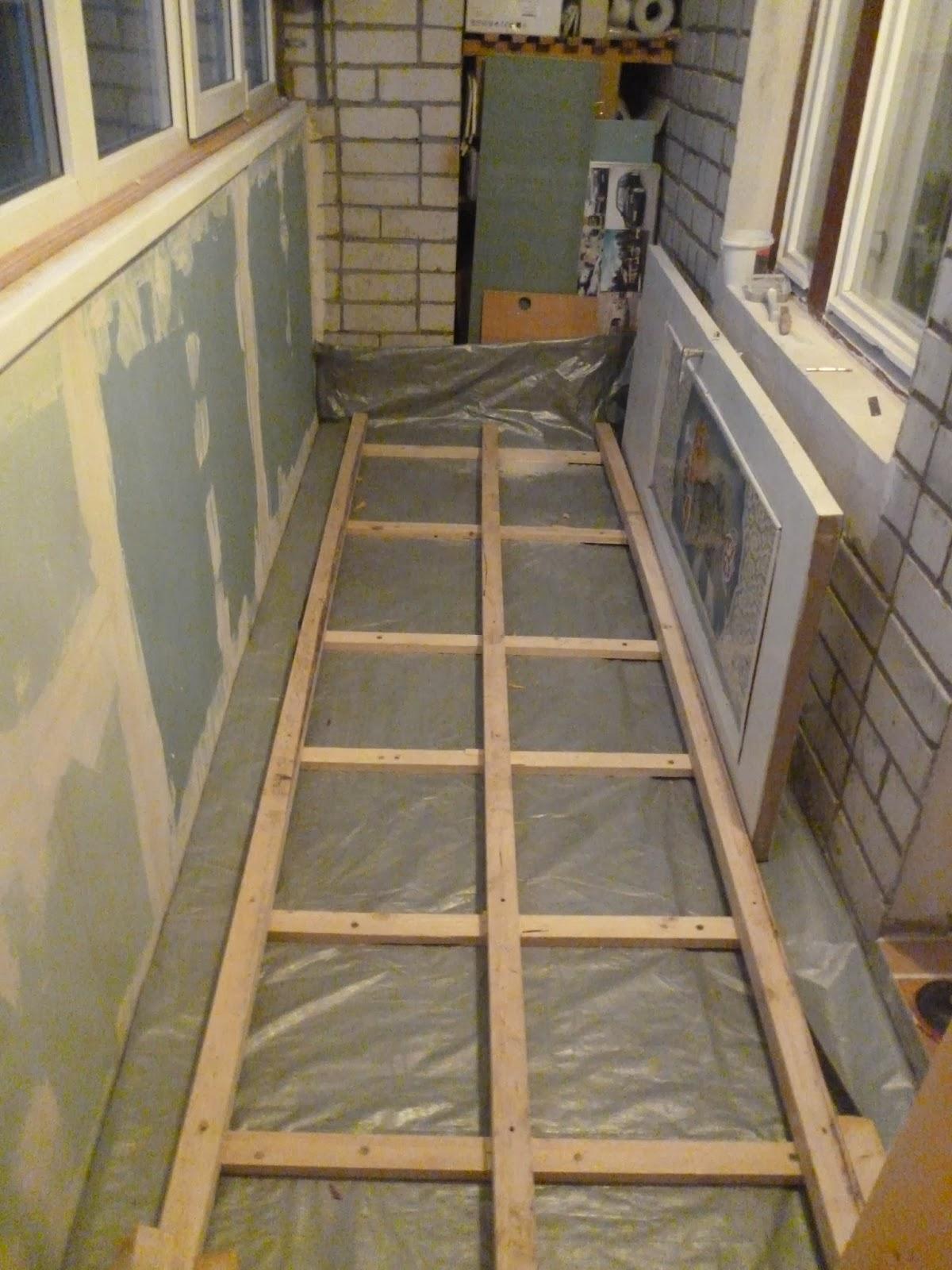 Как можно сделать полы на балконе 1000