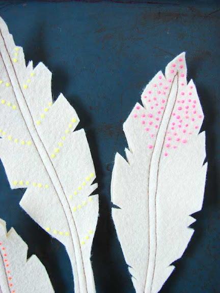 handmade feathers
