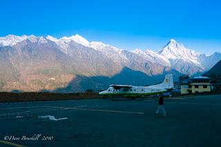 Bandara Tenzing-Hillary, Lukla, Nepal