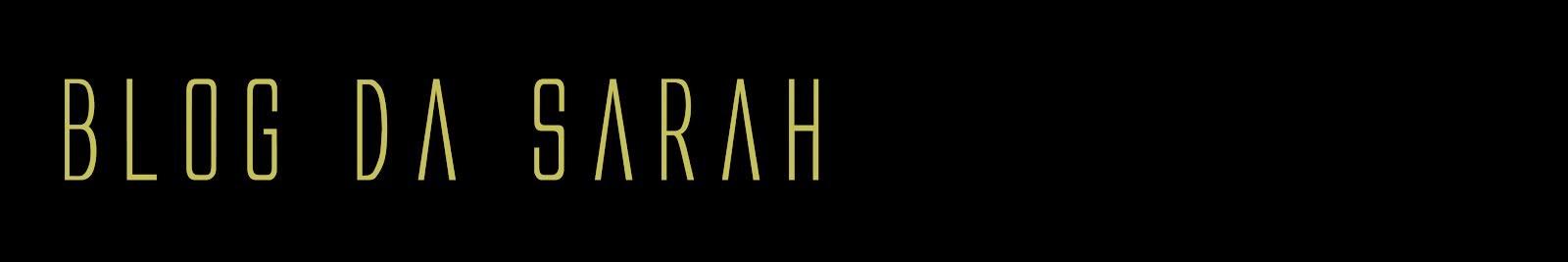 Blog da Sarah