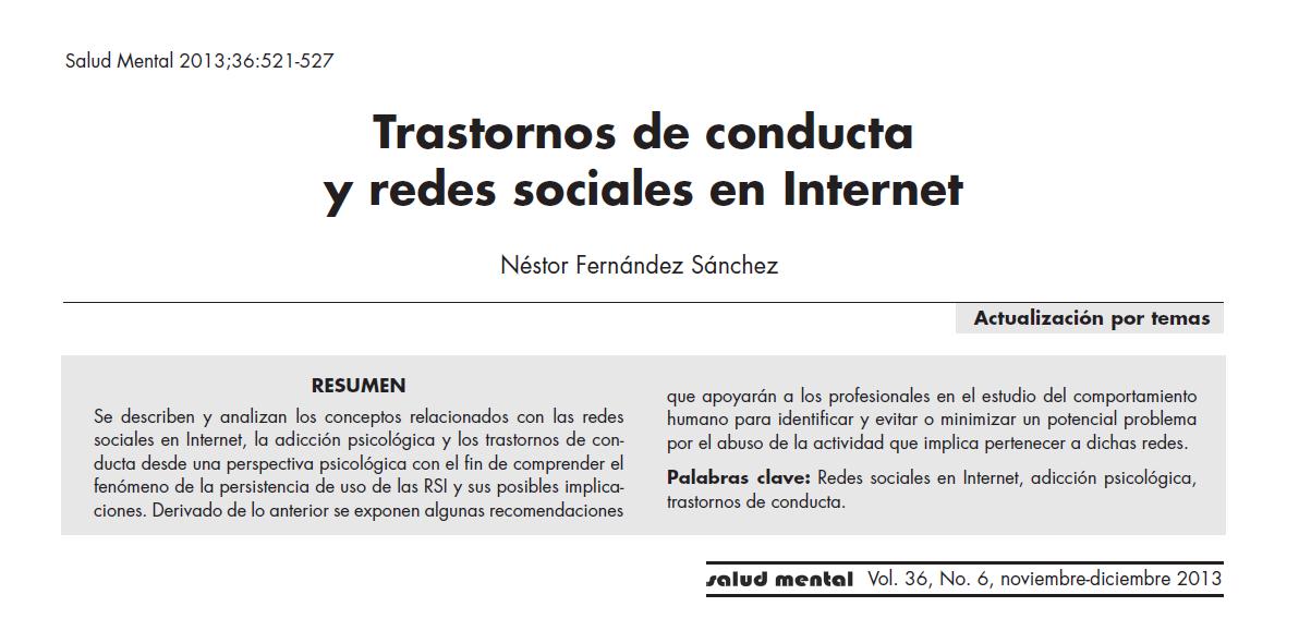 http://www.scribd.com/doc/208621327/Trastornos-de-Conducta-y-Redes-Sociales-en-Internet