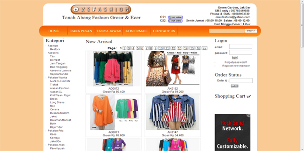 Fashion , polisi online