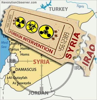 propaganda against syria
