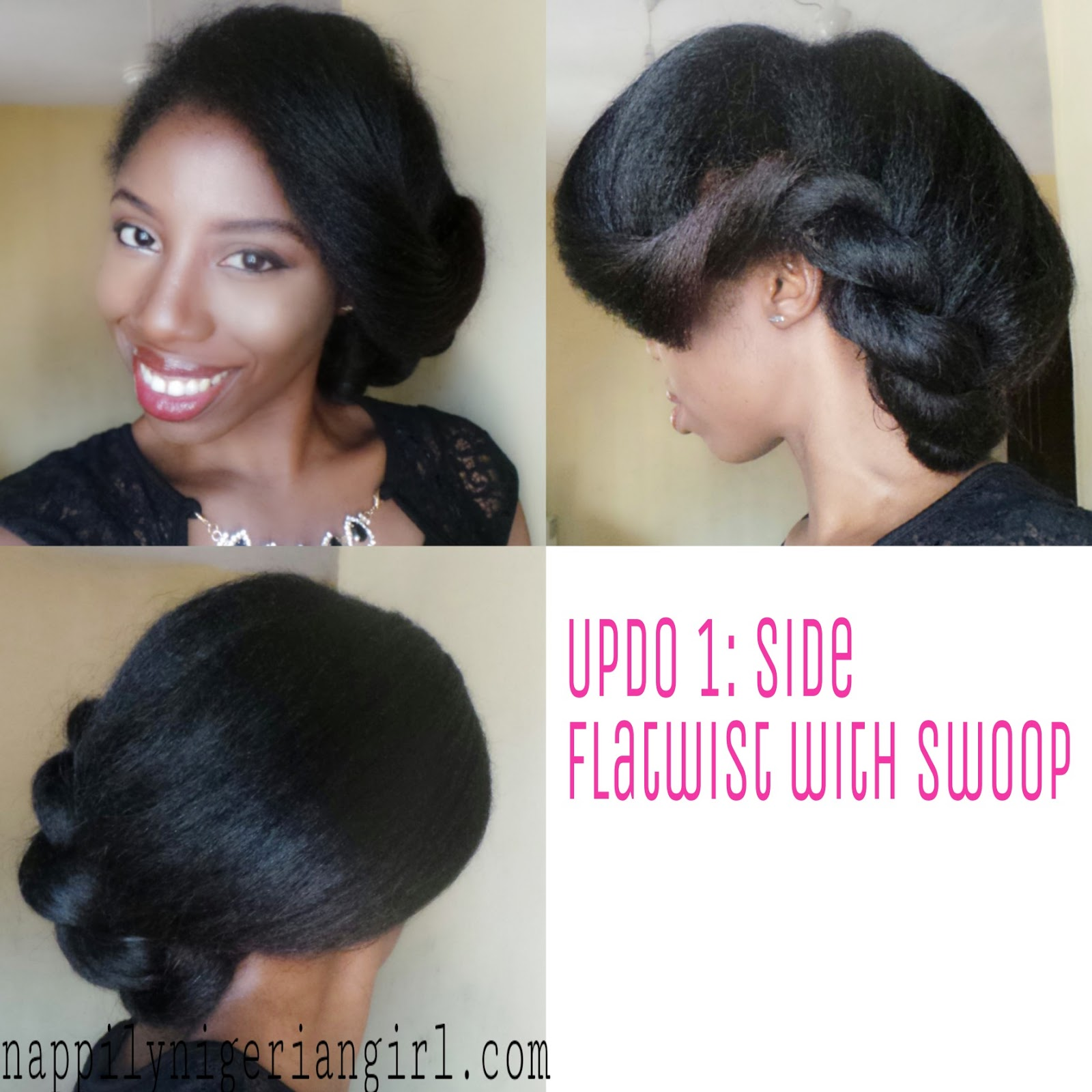 PROTECTIVE STYLES FOR STRAIGHTENED NATURAL HAIR - nappilynigeriangirl