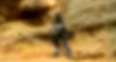 Alien Figure Seen On The Surface Of Mars 2015, UFO Sightings