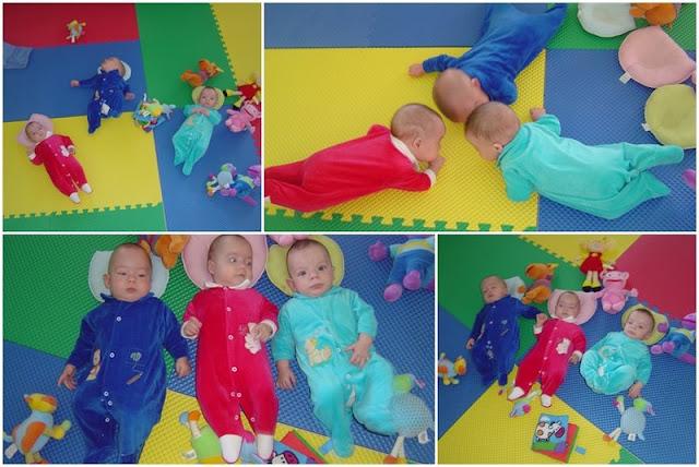 Brinquedoteca dos Trigêmeos: Daniel, Sara e Samuel