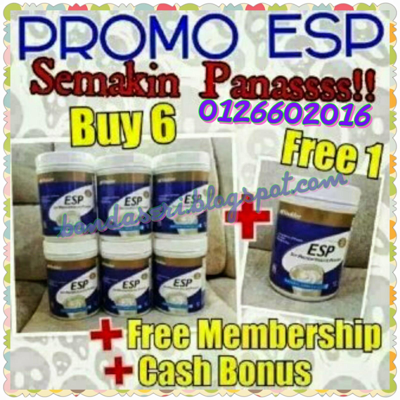 keahlian percuma dengan promo esp