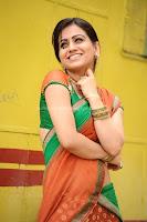 Aksha, Latest, Cute, Gallery, in, Saree