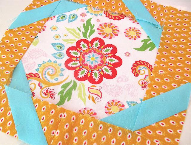 Madhuri quilting fabric collection by The Quilted Fish for Riley Blake