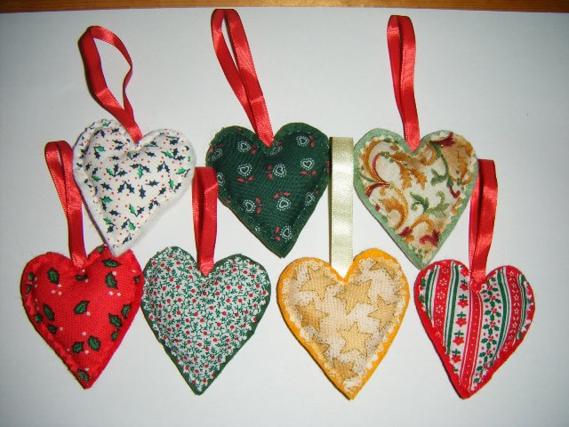 fabric christmas decorations ideas