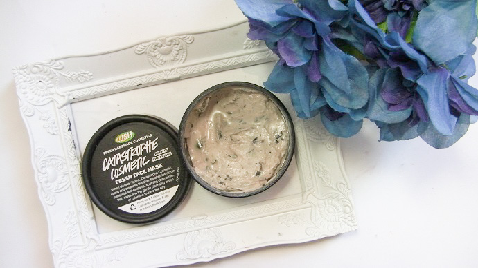 lush catastrophe cosmetic mask review