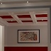 The Sitting Room - Coffered Ceiling