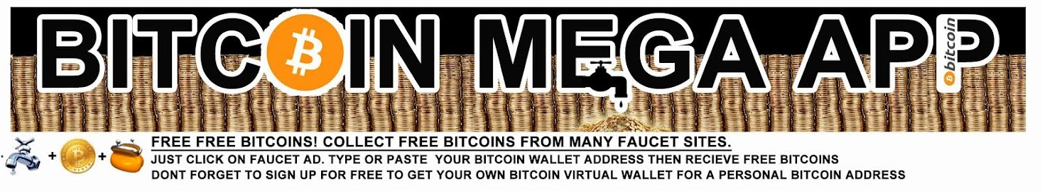 Bitcoin Mega App Is The Ultimate Link To Free Bitcoins And Faucets
