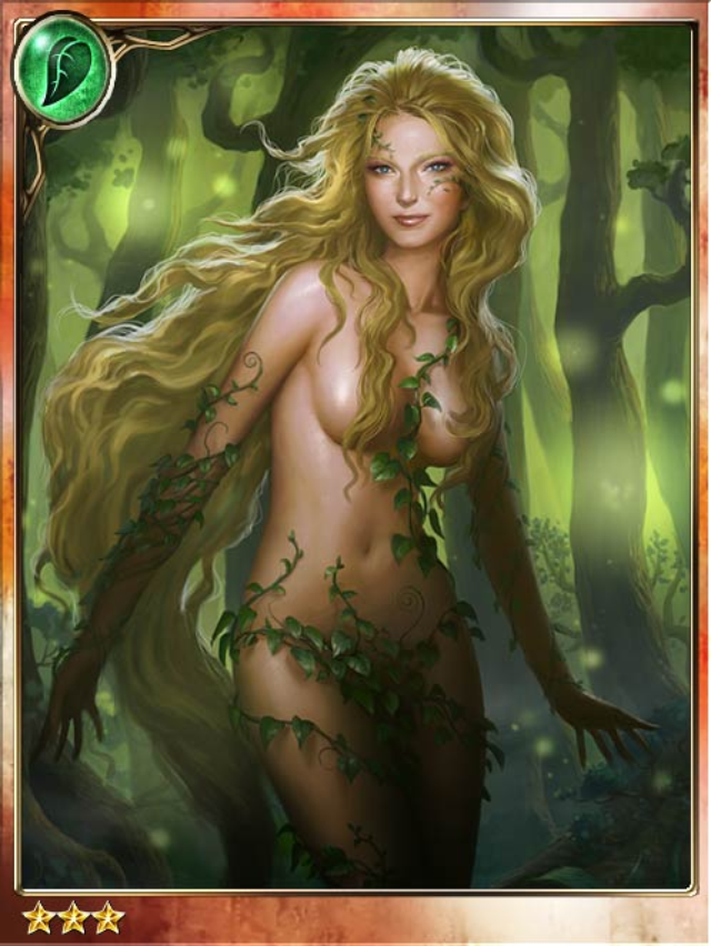 Legend of the Cryptids - Verdant Mandrake Nymph