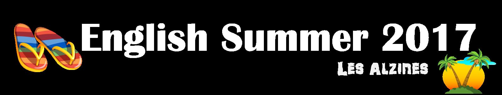 English Summer 2017