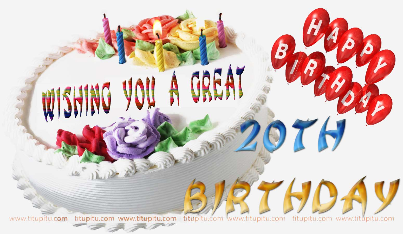 20th Birthday Wishes Message And Wallpaper For Everyone Happy 20th Birthday Wishes