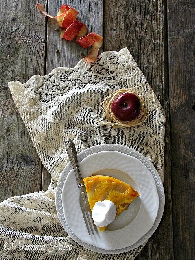 Tarte Tatin aux Pommes - Torta Rovesciata alle Mele di Armonia Paleo