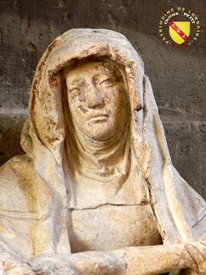 RAMBERVILLERS (88) - L'église Sainte Libaire - Pietà