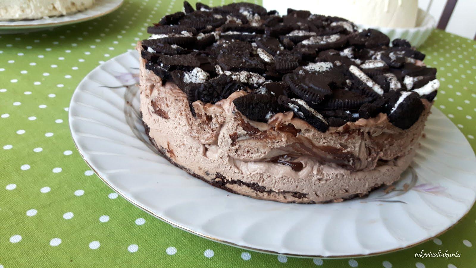 Oreo-Nutella-kakku