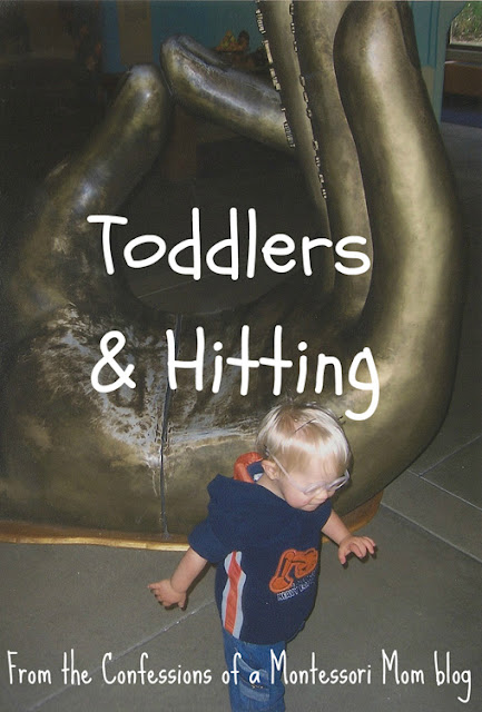 Confessions Of A Montessori Mom Does Your Toddler Hit