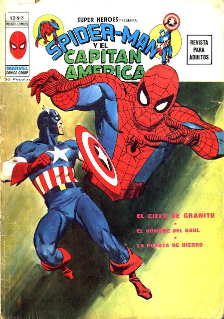 Portada de Superhéroes Volumen 2 Nº 8 Ediciones Vértice