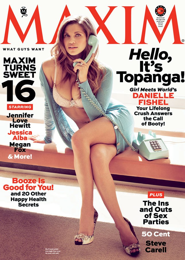 Danielle Fishel Cover Of Maxim Magazine 2013 Issue
