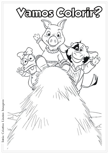 Jakers! desenho para colorir