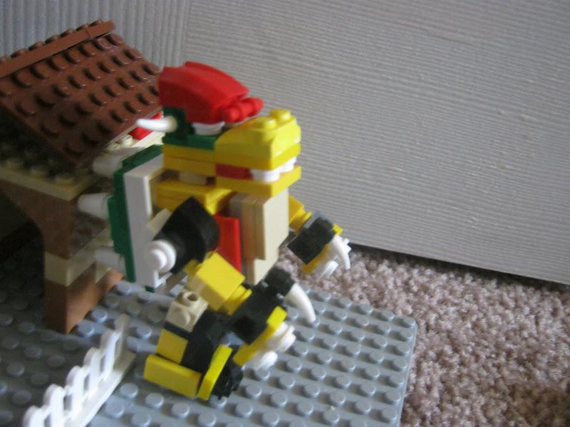 Everything Lego Bowser