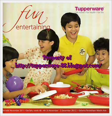 Tupperware-Katalog Promo November 2011