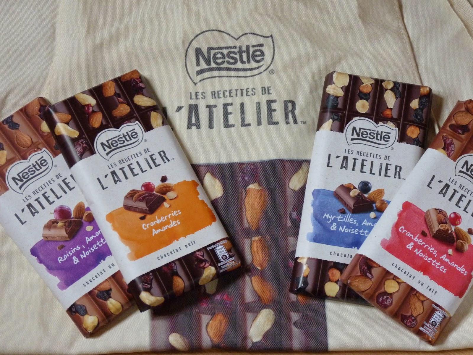 Les recettes de l'Atelier - Nestlé chocolat