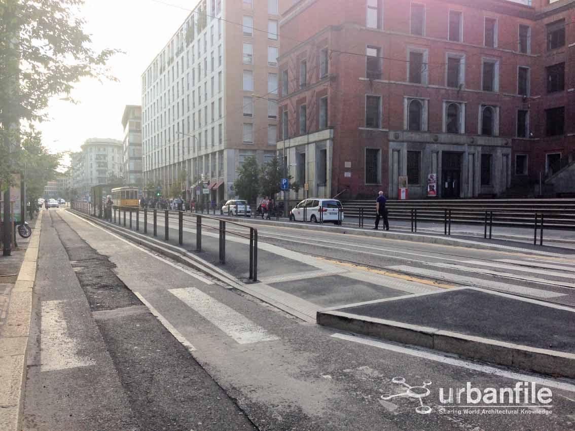 Urbanfile milano zona porta vittoria fermate del tram - Stazione porta vittoria milano ...