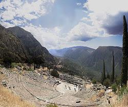 Ancient Theatre of Delphi & Mattu0027s English 102 Blog: Symbolism