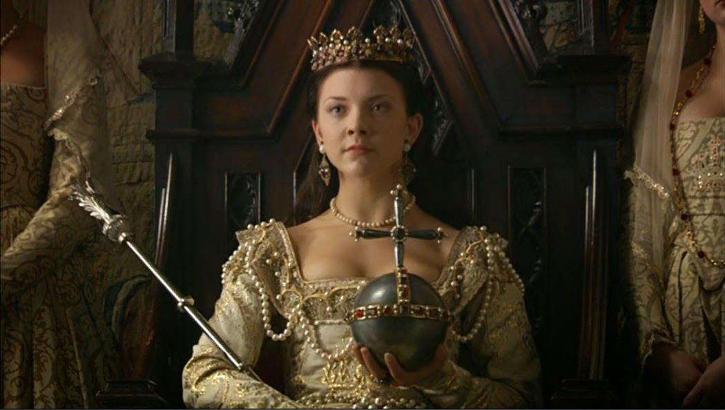 The coronation of Anne Boleyn as Queen of England