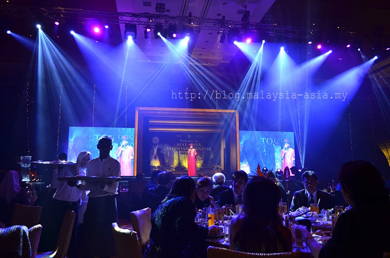 Jaclyn Victor at the Tourism Malaysia Awards Dinner