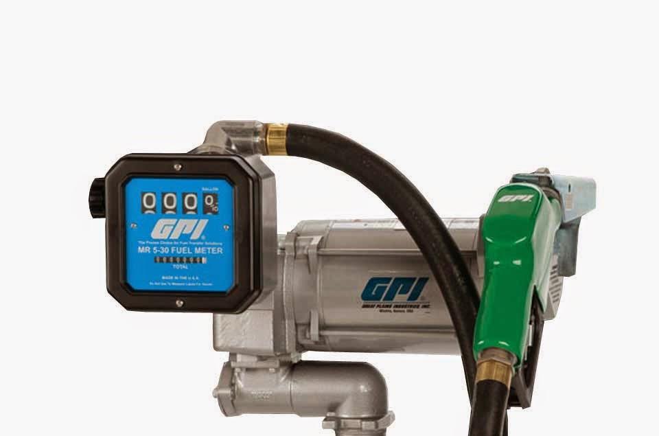 máy bơm dầu diesel gpi, máy bơm dầu nhớt gpi, đồng hồ đo dầu diesel, Fuel Transfer Pumps gpi,