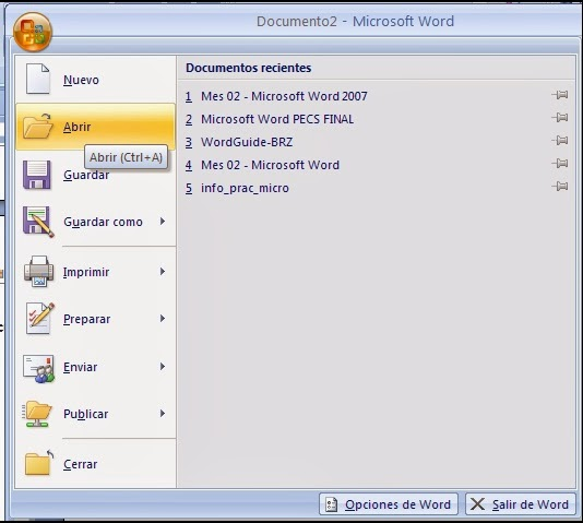 Abrir Documento Word