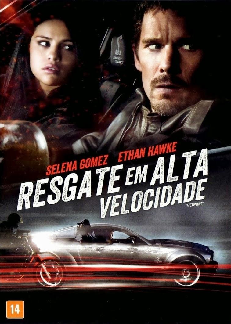 Capa/pôster/cartaz nacional de RESGATE EM ALTA VELOCIDADE (Getaway)