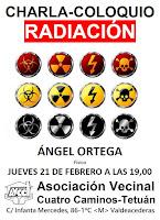 Charla-coloquio con el físico Ángel Ortega: Radiación