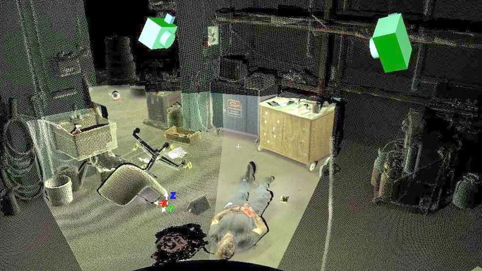 Láser escáner crímenes