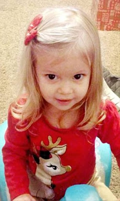 Two-year-old girl tragically dies just two days after Christmas from swallowing a battery