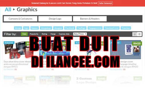 Buat Duit Di iLancee.com