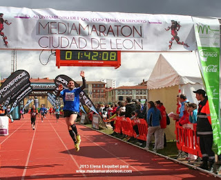 inscripcion VI media maraton leon 2014