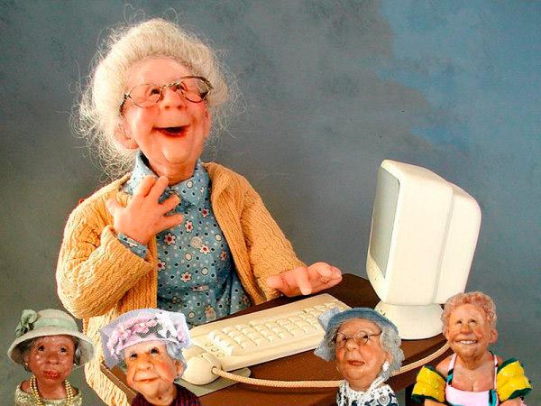 жизнерадостные старички и старушки Annie Wahl